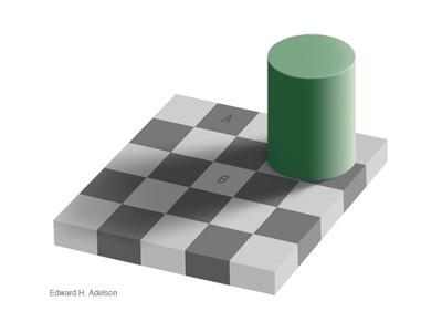 Checkershadow Illusion