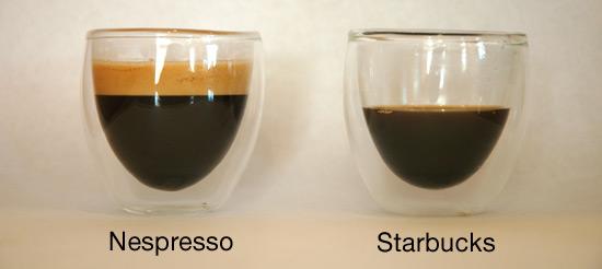 Starbucks Versus Nespresso Taste Test