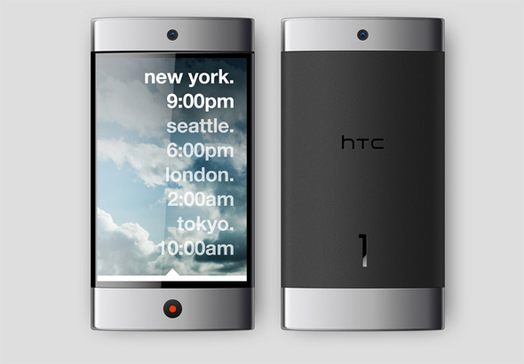 Andrew Kim's HTC 1 phone design render